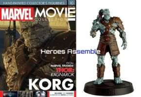 Marvel Movie Collection Special #10 Korg Figurine Eaglemoss Publications